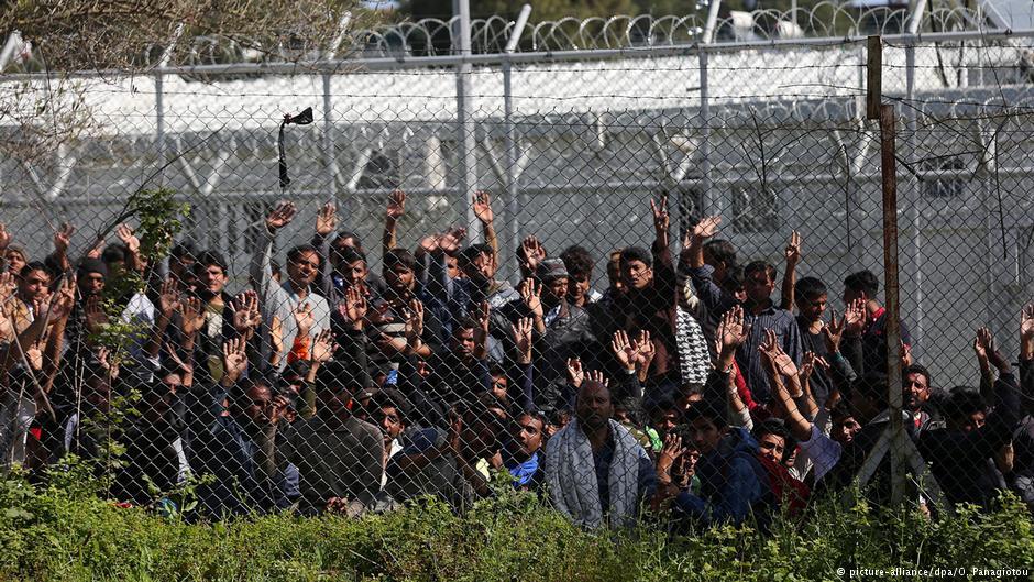 Μόρια μετανάστες
